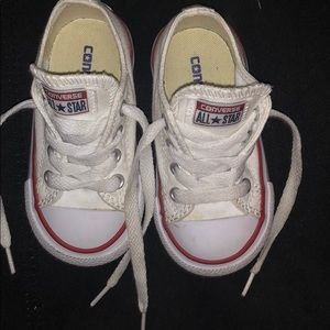 Toddlers white Converses
